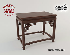3D model Chinese small table