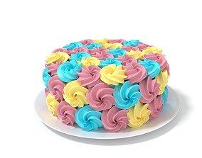 3D Rainbow Cake 2