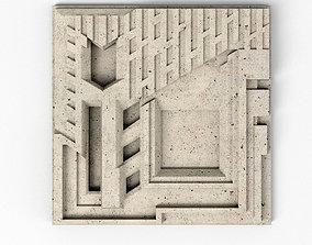 3D model Freeman House Tile - Frank Llyod Wright
