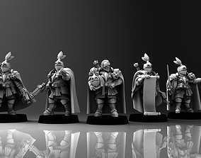 Feudal Guard Male Higher Officers 3D printable model