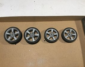 1-12 scale Camaro tyre and rims 3D print model