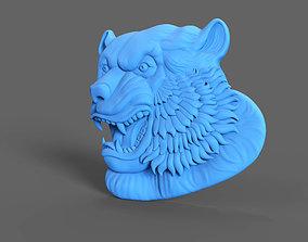 Tiger Relief 3D print model coins