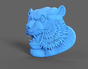 3D print model Tiger Relief