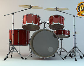 Drum sets 3D model