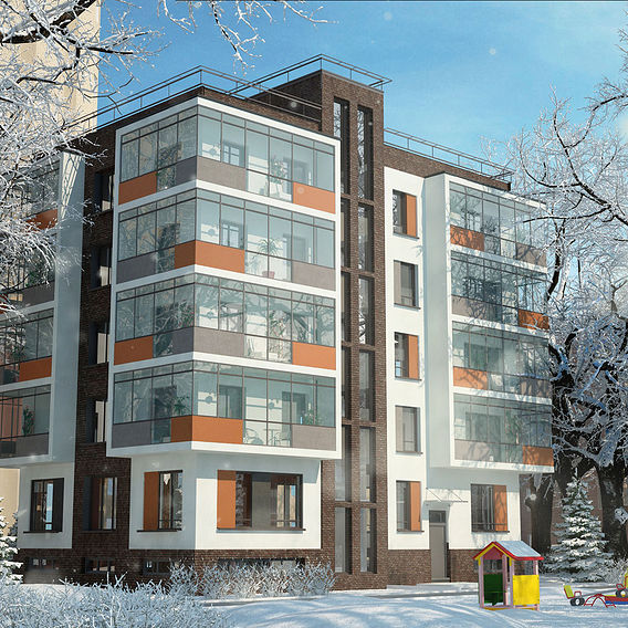 apartment house  in Russia Voronezh