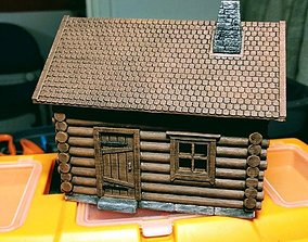 3D print model Log Cabin