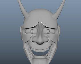 Noh Mask - Hannya - Untextured 3D model