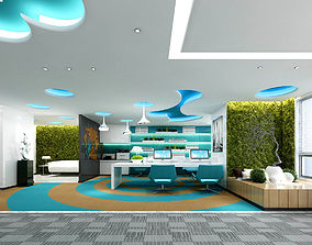 Office meeting room reception hall 53 3D