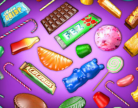 3D asset Candy Heaven Pack