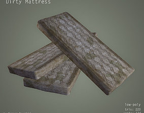 Dirty Mattress - Low Poly 3D asset