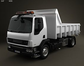 DAF LF Tipper 2011 3D model