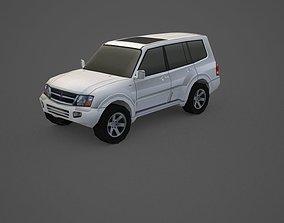 3D model Mitsubishi Pajero Montero 3