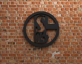3D logo FC Schalke 04 Logo