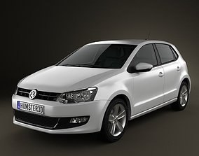 Volkswagen Polo 5-door 2010 3D