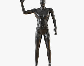 3D model Abstract male mannequin 14