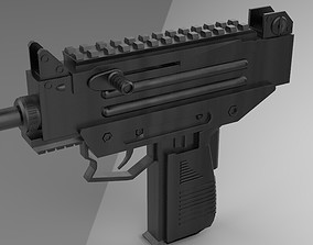 3D model UZI PRO PUBG - GUN weaponry