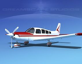 3D Piper Cherokee Six 260 V01