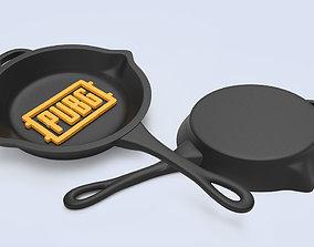 3D print model PUBG Frying Pan Keychain