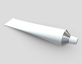 Paste Tube 3D asset