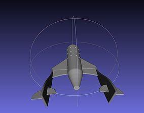 Virgin Galactic Space ship two 3D