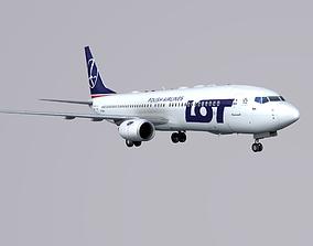 Boieng 737-800 LOT 3D asset
