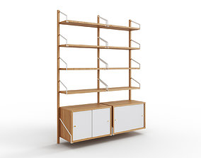 3D model game-ready SVALNAS Wall-mounted storage