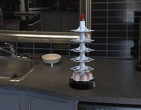3D print model Egg tower