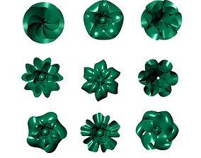 Flower Design Surface Model