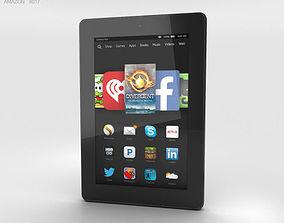 Amazon Fire HD 7 Black 3D model