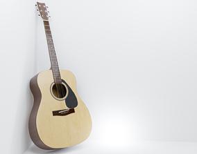Acoustic Guitar 3D musical