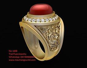 1608 Luxury USA Ring 3D printable model