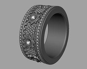 Rotating Ring Machine 3D print model