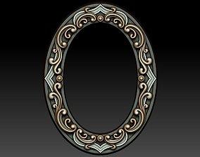 3D model Decorative frame 7
