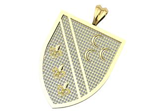 printable Diamond necklace 3D printable model