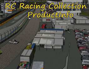 RC Racing Collection 3D asset