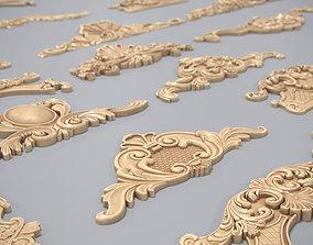 Patterns Bas-reliefs 3D printable model