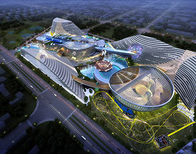3D model City Shopping Mall office