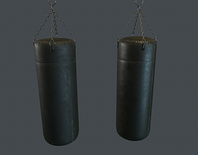 3D model Punching Bag PBR Game Ready
