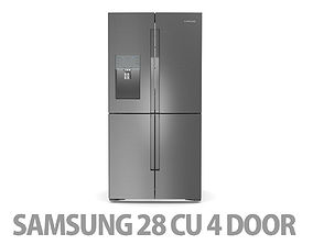 3D 28 cu ft 4 Door Refrigerator