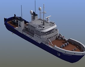 3D model Fisheries Protection Vessel