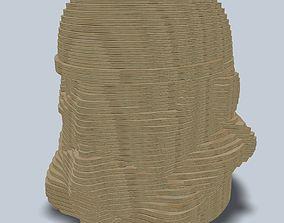 Stormtrooper layer laser lasercut 3D