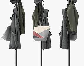 Naula coat rack 3D