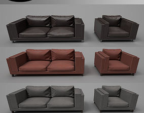 Modern Furniture Set 01 3D model