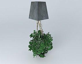 3D model Salal plant satabilisée 220 cm high