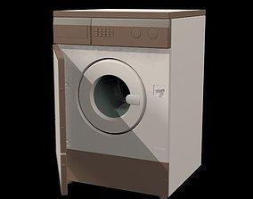 washer 3D model realtime