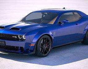 Dodge Challenger SRT Hellcat 2019 3D model