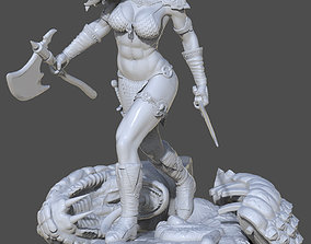 3D print model Fan Art - Red Sonja