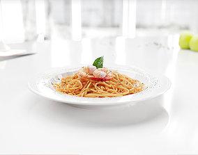 Spaghetti 3D model vizpeople