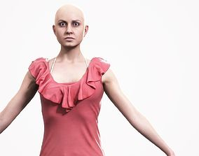 Human Woman Scan - 193F 3D model