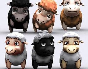 3DRT - Chibii Sheep animated